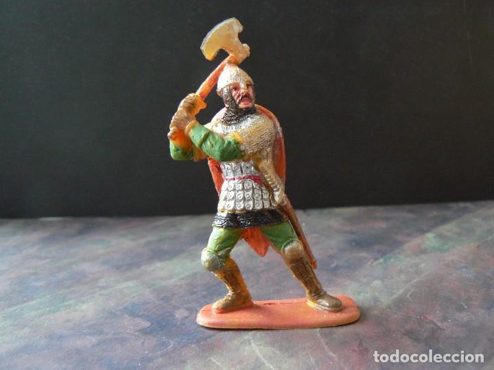 Figuras de Goma y PVC: GUERRERO ARABE SERRACENO - ELASTOLIN/GUILBERT - Foto 2 - 183931953