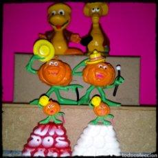 Figuras de Goma y PVC: LOTE FIGURAS PVC DE LAS MASCOTAS DEL PROGRAMA DE TVE 1 2 3 RUPERTA, EL BOOM Y EL CRACK. Lote 183963611