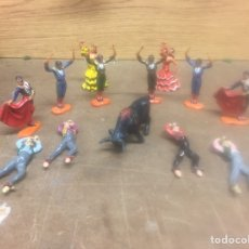 Figuras de Goma y PVC: FIGURAS TOROS COMANSI PECH REAMSA JECSAN. Lote 184136101
