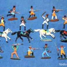 Figuras de Goma y PVC: GUERRA DE LA INDEPENDENCIA (REAMSA) - LOTE DE 16 FIGURAS EN BUEN ESTADO. Lote 184255056