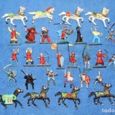 Figuras de Goma y PVC: EL CID CAMPEADOR (REAMSA) - LOTE DE 29 FIGURAS EN MUY BUEN ESTADO. Lote 184258582