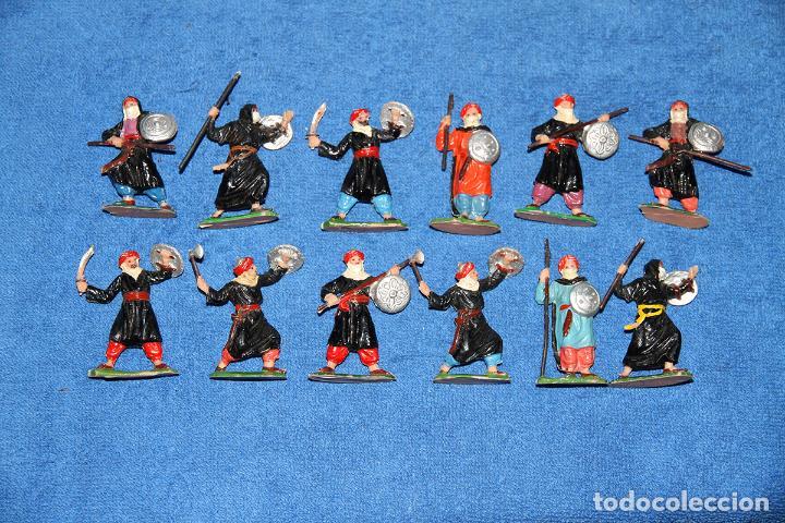 Figuras de Goma y PVC: BEN YUSUF (JECSAN) - LOTE DE 12 FIGURAS EN BUEN ESTADO - Foto 2 - 184259267