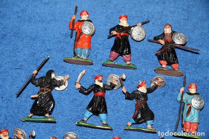 Figuras de Goma y PVC: BEN YUSUF (JECSAN) - LOTE DE 12 FIGURAS EN BUEN ESTADO - Foto 3 - 184259267