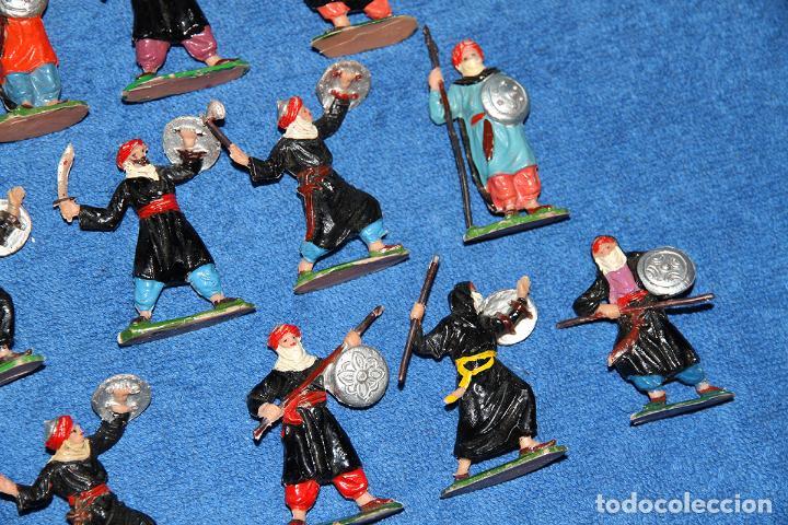 Figuras de Goma y PVC: BEN YUSUF (JECSAN) - LOTE DE 12 FIGURAS EN BUEN ESTADO - Foto 4 - 184259267