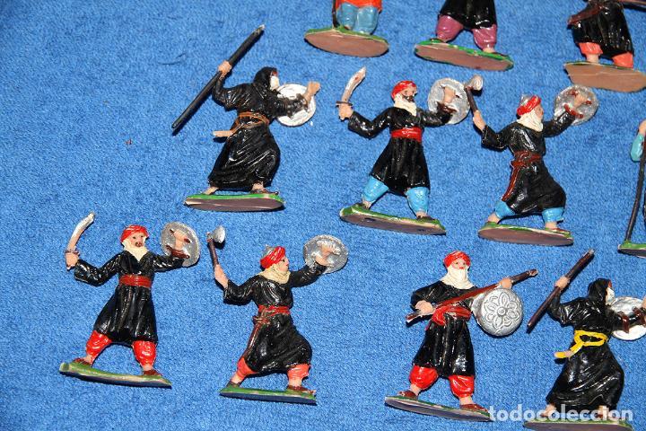 Figuras de Goma y PVC: BEN YUSUF (JECSAN) - LOTE DE 12 FIGURAS EN BUEN ESTADO - Foto 5 - 184259267
