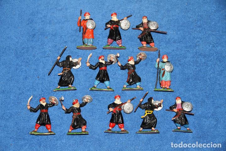 BEN YUSUF (JECSAN) - LOTE DE 12 FIGURAS EN BUEN ESTADO (Juguetes - Figuras de Goma y Pvc - Jecsan)