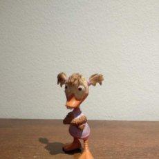 Figuras de Goma y PVC: MUÑECO O FIGURA DISNEY PERSONAJE DE CHICKEN LITTLE - ABBY PATOSA - BULLYLAND - VER FOTOS. Lote 184260810