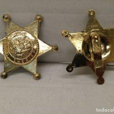 Figuras de Goma y PVC: ESTRELLA DE SHERIFF AÑOS 70 JUGUETE. Lote 184300886