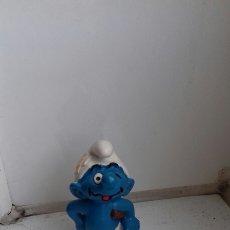 Figuras de Goma y PVC: ANTIGUO PITUFO PEYO. Lote 184333502