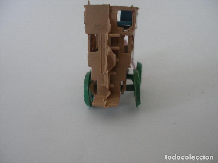 Figuras de Goma y PVC: Carreta transporte Montaplex (9 x 4 cm ) ) kiosko años 70 , Sin uso - Foto 3 - 55524973