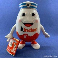 Figuras Kinder: EXPOSITOR DE HUEVOS KINDER - MARINERO - 24 CM. Lote 184460340