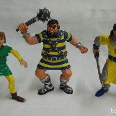 Figuras de Goma y PVC: LOTE 3 FIGURAS CAPITÁN TRUENO - COMIC SPAIN .. Lote 184464100