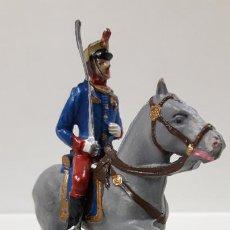 Figuras de Goma y PVC: SOLDADO DE LA GUARDIA REAL A CABALLO - DESFILE . REALIZADO POR GOMARSA / SOLDIS . AÑOS 70. Lote 184505046