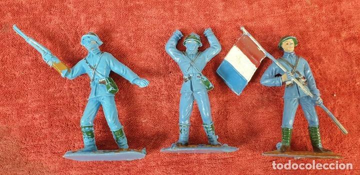 Figuras de Goma y PVC: COLECCIÓN DE SOLDADOS Y TANQUES. COMANSI. PLÁSTICO. ESPAÑA. CIRCA 1960. - Foto 4 - 184596827