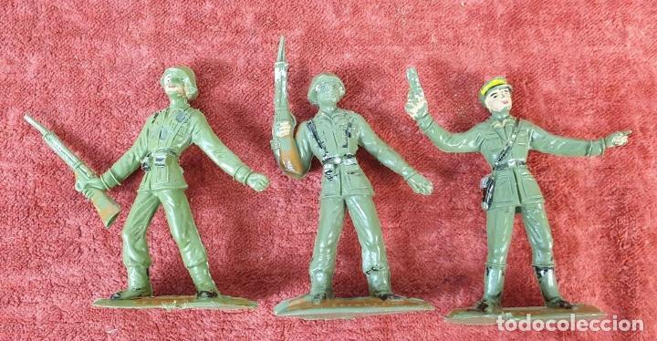 Figuras de Goma y PVC: COLECCIÓN DE SOLDADOS Y TANQUES. COMANSI. PLÁSTICO. ESPAÑA. CIRCA 1960. - Foto 5 - 184596827
