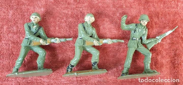 Figuras de Goma y PVC: COLECCIÓN DE SOLDADOS Y TANQUES. COMANSI. PLÁSTICO. ESPAÑA. CIRCA 1960. - Foto 8 - 184596827