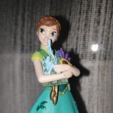 Figuras de Goma y PVC: PRECIOSA FIGURA PVC GOMA ANNA FROZEN FEVER TIENDA DISNEY STORE. Lote 184796015