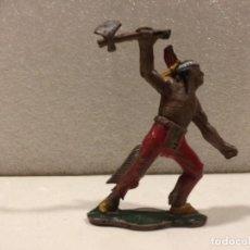 Figuras de Goma y PVC: TEIXIDO - FIGURA INDIO - GOMA. Lote 184796796