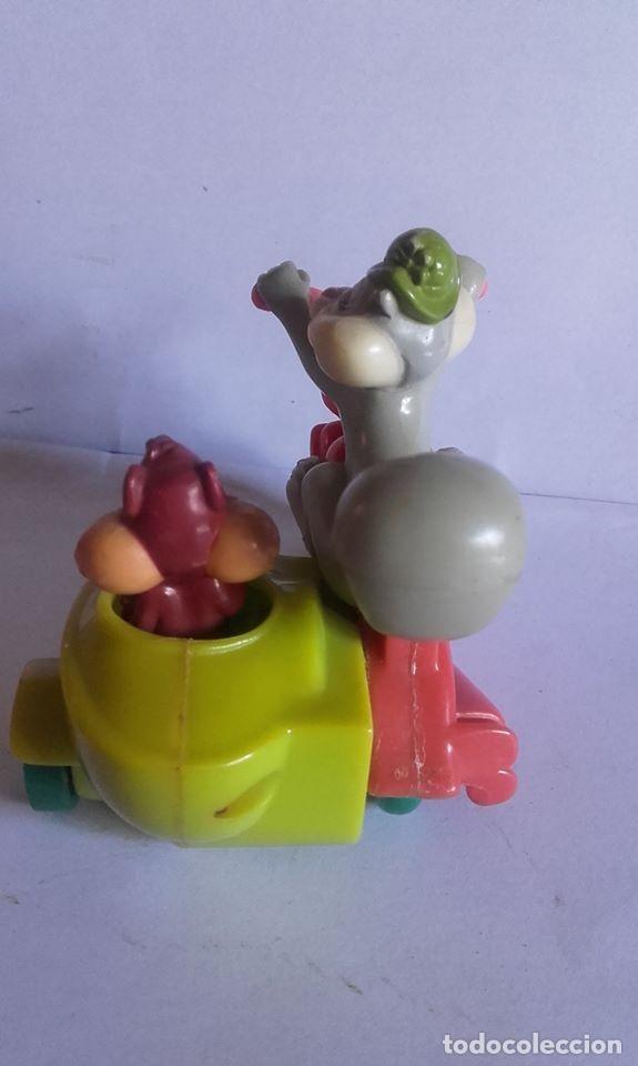 Figuras de Goma y PVC: MUÑECO EN PVC MOTO-SIDECAR / .LOS ARISTOGATOS / DE WARNER BROS / 1993 - Foto 4 - 184831252