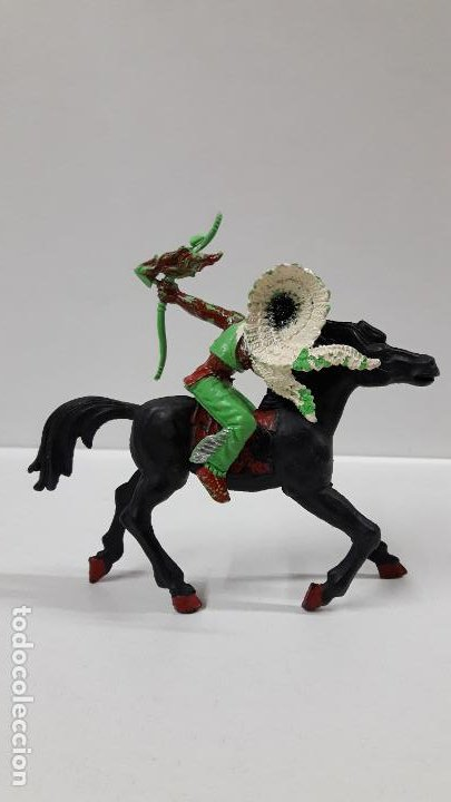 Figuras de Goma y PVC: GUERRERO INDIO PARA CABALLO . REALIZADO POR LAFREDO . AÑOS 60 . CABALLO NO INCLUIDO - Foto 4 - 184844663