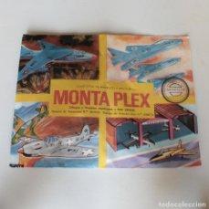 Figuras de Goma y PVC: SOBRE CERRADO MONTA PLEX Nº425 SERIE AVIONES DE COMBATE 1967. Lote 184860821