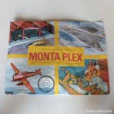Figuras de Goma y PVC: SOBRE CERRADO MONTA PLEX Nº424 SERIE AVIONES DE COMBATE 1967. Lote 184861368
