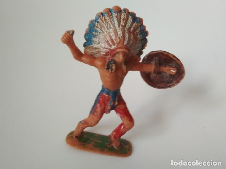 FIGURA INDIO JECSAN (Juguetes - Figuras de Goma y Pvc - Jecsan)