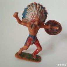 Figuras de Goma y PVC: FIGURA INDIO JECSAN. Lote 184865295