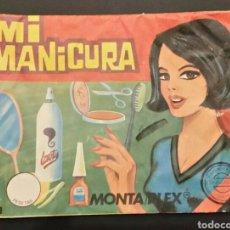 Figuras de Goma y PVC: SOBRE VACÍO MONTAPLEX MI MANICURA 306. Lote 184892846