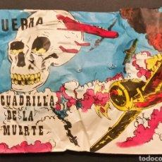 Figuras de Goma y PVC: SOBRE CERRADO TIPO MONTAPLEX GUERRA ESCUADRILLA DE LA MUERTE. Lote 184916760