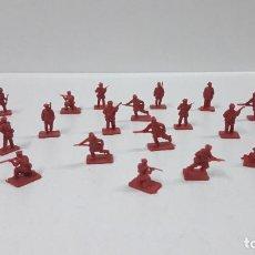 Figuras de Goma y PVC: LOTE DE SOLDADITOS MONTAPLEX - RUSIA DEL ZAR . AÑOS 70 / 80. Lote 184943123
