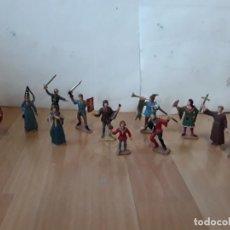 Figuras de Goma y PVC: CORTE FEUDAL REAMSA. SERIE COMPLETA.. Lote 184943956