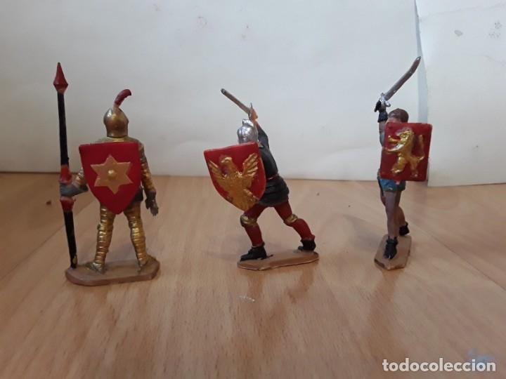 Figuras de Goma y PVC: Corte feudal Reamsa. Serie Completa. - Foto 2 - 184943956
