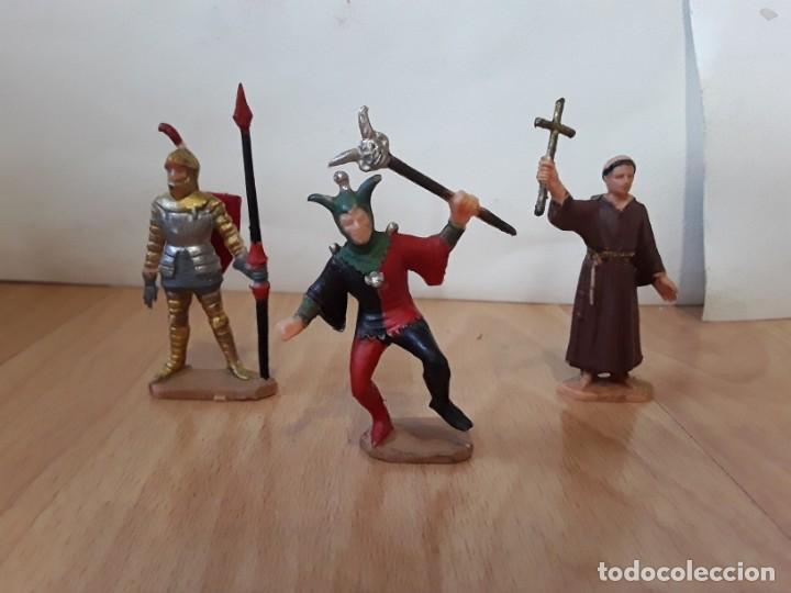 Figuras de Goma y PVC: Corte feudal Reamsa. Serie Completa. - Foto 3 - 184943956