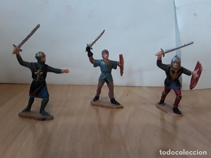 Figuras de Goma y PVC: Corte feudal Reamsa. Serie Completa. - Foto 5 - 184943956