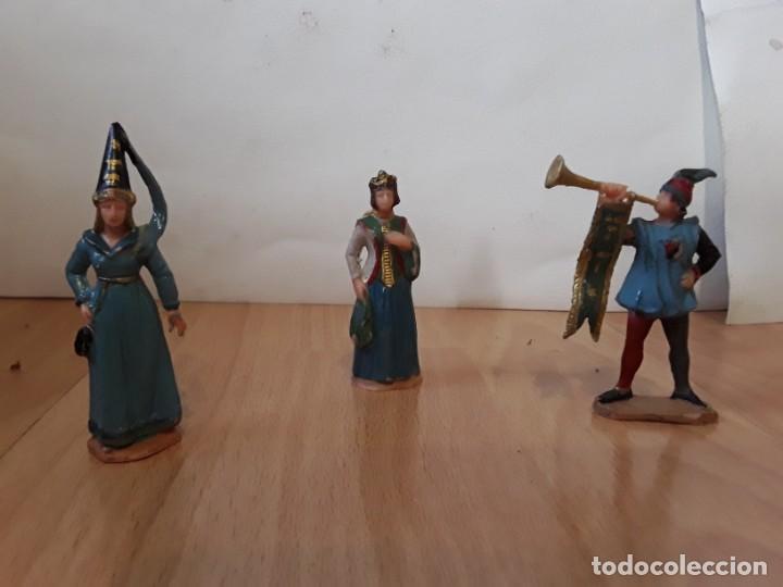 Figuras de Goma y PVC: Corte feudal Reamsa. Serie Completa. - Foto 6 - 184943956