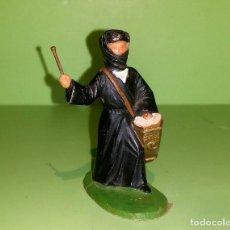 Figuras de Goma y PVC: ARABE CON TAMBOR, REAMSA AÑOS 60. Lote 185671562