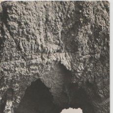 Figuras de Goma y PVC: LOTE B POSTAL LA ESCALA COSTA BRAVA CATALUÑA MARTA SELLOS 1957. Lote 185715336