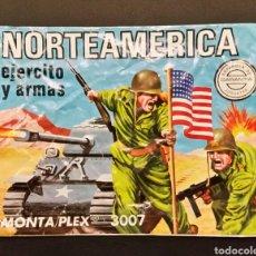 Figuras de Goma y PVC: SOBRE VACÍO MONTAPLEX NORTEAMERICA EJÉRCITO Y ARMAS 3007. Lote 185911631