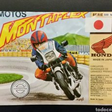 Figuras de Goma y PVC: SOBRE VACÍO MONTAPLEX MOTO HONDA SERIE 500 NÚMERO 5. Lote 185915595