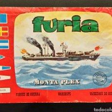 Figuras de Goma y PVC: SOBRE VACÍO MONTAPLEX BARCO FURIA 436. Lote 185918163