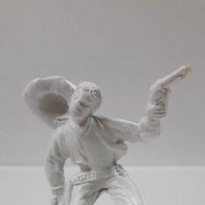 Figuras de Goma y PVC: VAQUERO - COWBOY . AÑOS 70 . EN PLASTICO MONOCOLOR. Lote 186052791