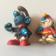 Figuras de Goma y PVC: FIGURA DE GOMA , PITUFOS.. Lote 186053422