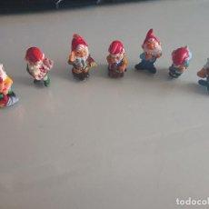 Figuras Kinder: LOTE DE 7 FIGURAS ENANITOS DE HUEVOS KINDER , LEER DESCRIPCION. Lote 186082807