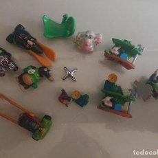 Figuras Kinder: LOTE DE 6 FIGURAS TOPOS DE HUEVOS KINDER , LEER DESCRIPCION. Lote 186082966