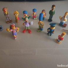 Figuras Kinder: LOTE DE 14 FIGURAS SIMPSON DE HUEVOS KINDER , LEER DESCRIPCION. Lote 186083117