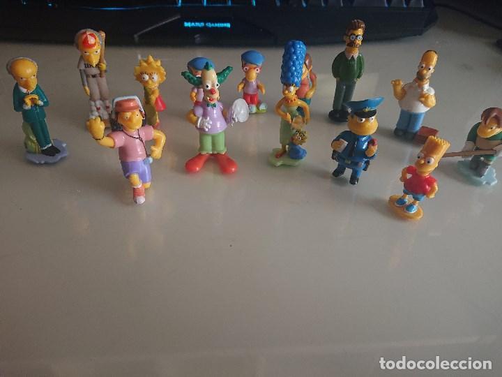 Figuras Kinder: Lote de 14 FIGURAS SIMPSON DE HUEVOS KINDER , LEER DESCRIPCION - Foto 2 - 186083117