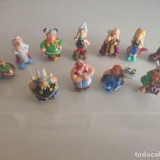 Figuras Kinder: LOTE DE 11 FIGURAS ASTERIX DE HUEVOS KINDER , LEER DESCRIPCION. Lote 186083160