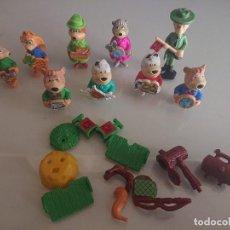 Figuras Kinder: LOTE DE 9 FIGURAS OSOS DE HUEVOS KINDER , LEER DESCRIPCION. Lote 186083242