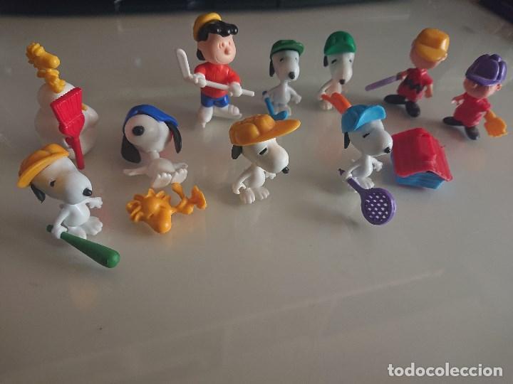 Figuras Kinder: Lote de 11 FIGURAS SNOOPY DE HUEVOS KINDER, LEER DESCRIPCION - Foto 2 - 186083322